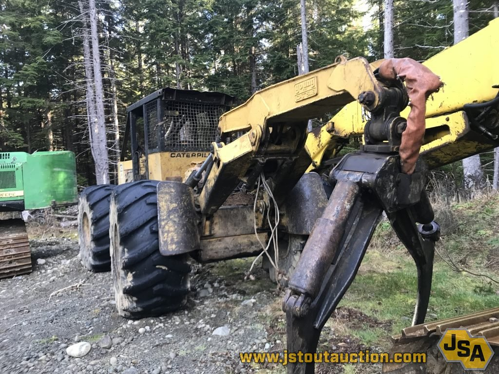 For Sale: 1988 Caterpillar 518 Skidder